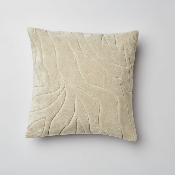 Surprise Home - Quilted Waves Cushion Covers (Sage Green)