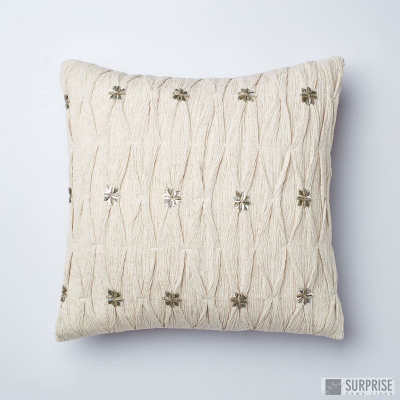 Surprise Home - Textured Gypsy Cushion Covers (Grey)