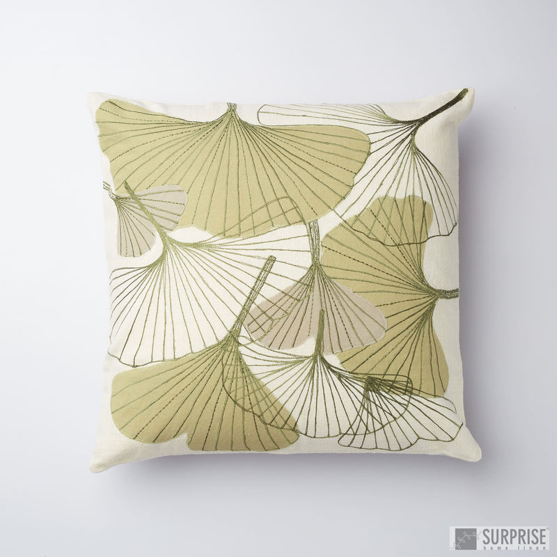 Surprise Home - Floral Fantasy Cushion Covers (Green)