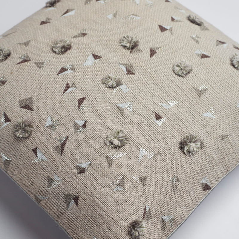 Surprise Home - Dandelion Cushion Covers (Grey)