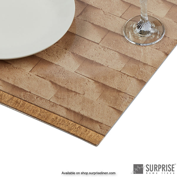 Surprise Home - Laminated Table Mats (Brown)