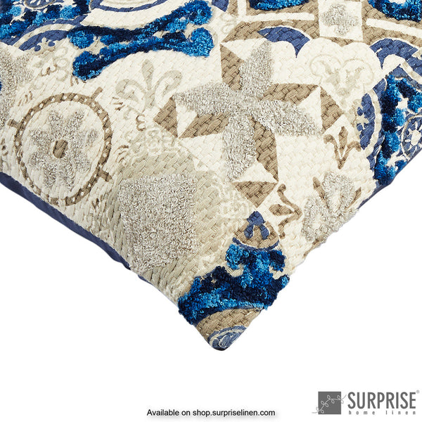 Surprise Home - Moorish Cushion Cover (Blue)