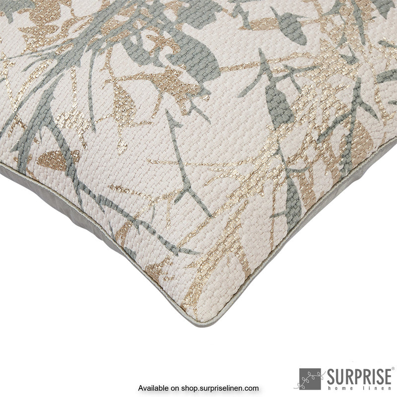 Surprise Home - Foliage Cushion Cover (Sage Green)
