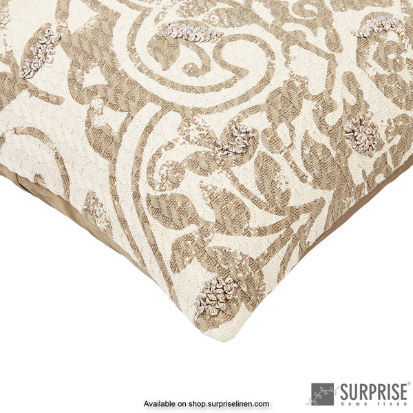 Surprise Home - Alhambara Cushion Cover (Light Brown)