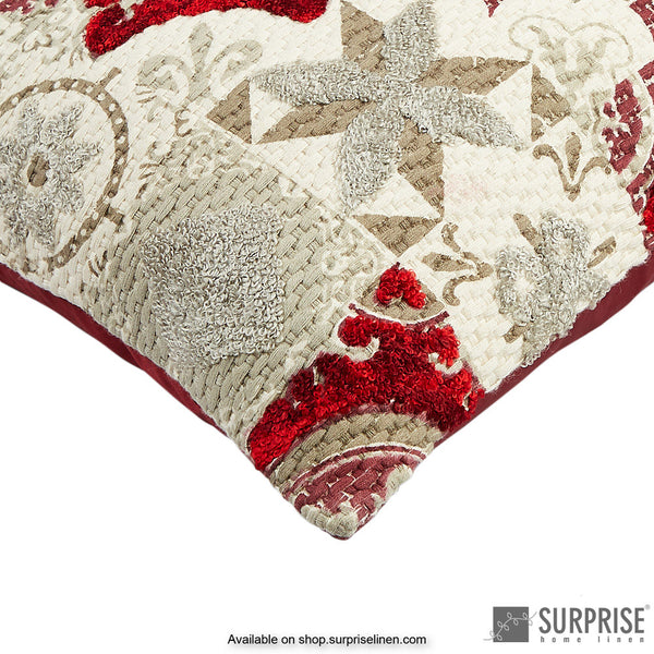 Surprise Home - Moorish Cushion Cover 35 x 50 cms (Red)