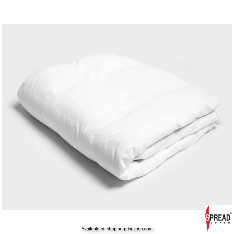 Spread Home - 800 Thread Count Cotton White Bedding Collection Quilt