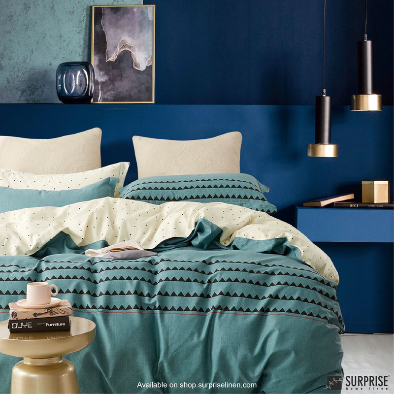 Essentials by Surprise Home - Monze (Boho Teal) Bed Sheet Set