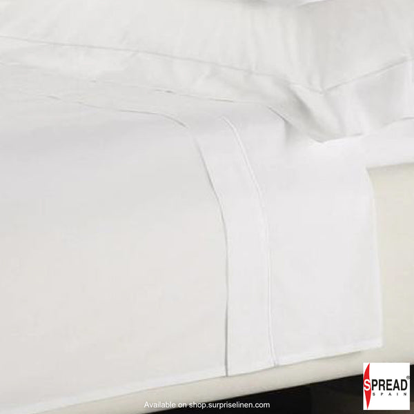 Spread Home - 500 Thread Count Cotton White Bedding Collection Bedsheet Set