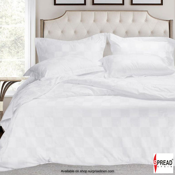 Spread Home - 500 Thread Count Cotton Bedsheet Set  - Paver Block