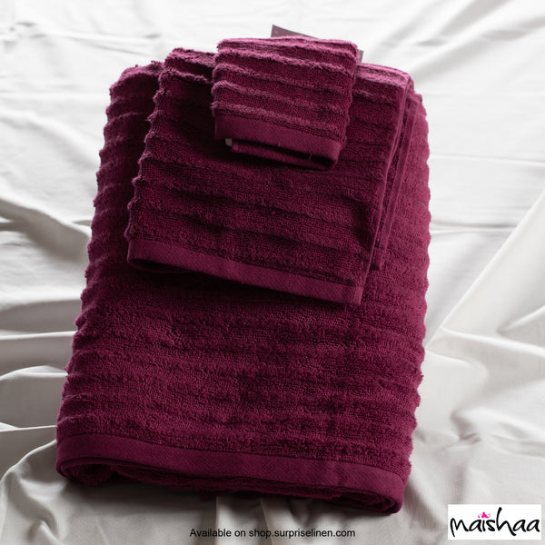 Maishaa - Airdrop Collection Wine Bath Towel