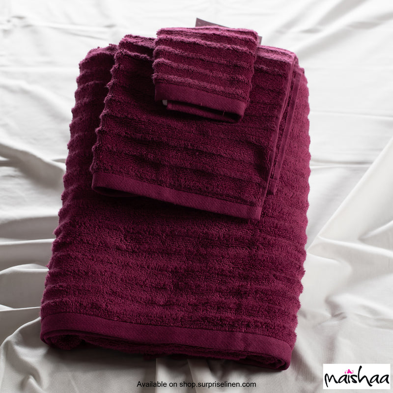 Maishaa - Airdrop Collection Wine Face Towel