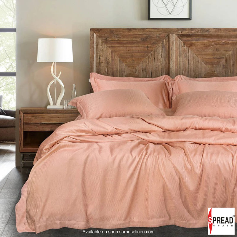 Spread Home - Bamboo Bedding 500 Thread Count Bedsheet Set - Peach