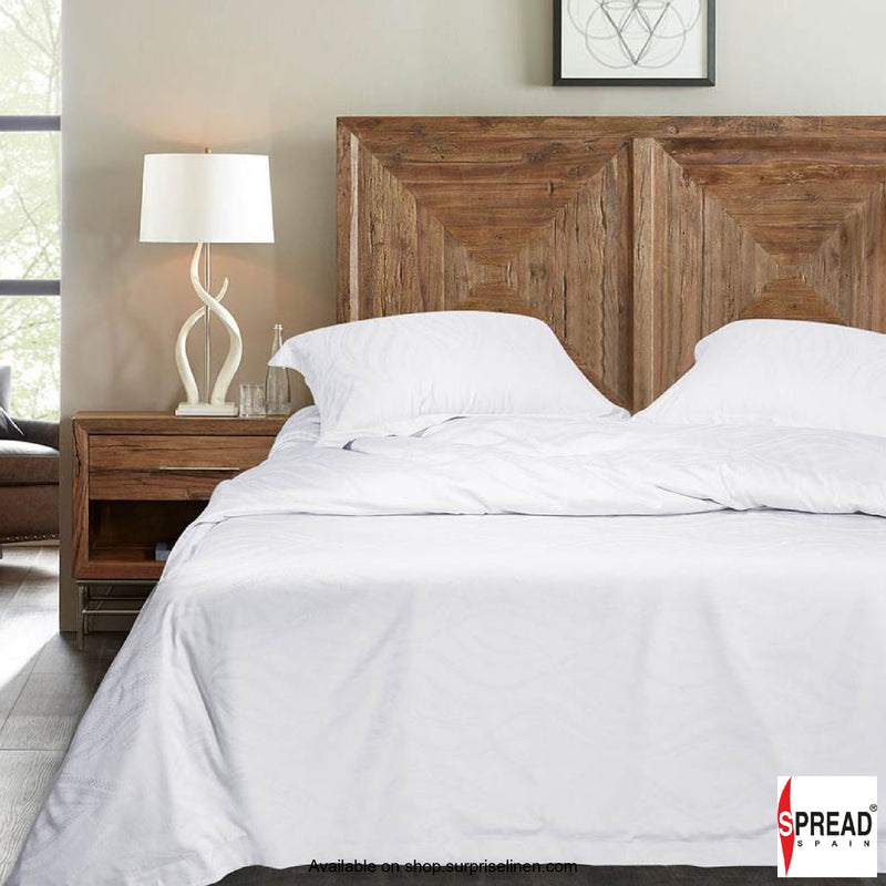 Spread Home - Bamboo Bedding 500 Thread Count Bedsheet - White