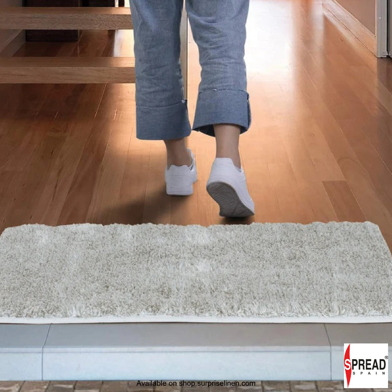 Spread Home - Anti Slip Micro Fiber Bath Rug (Cinder)