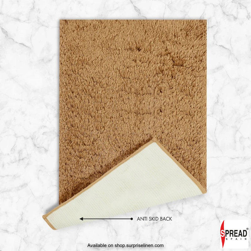Spread Home -Ultra Absorbent Anti Slip Luxury Mat (Brown)
