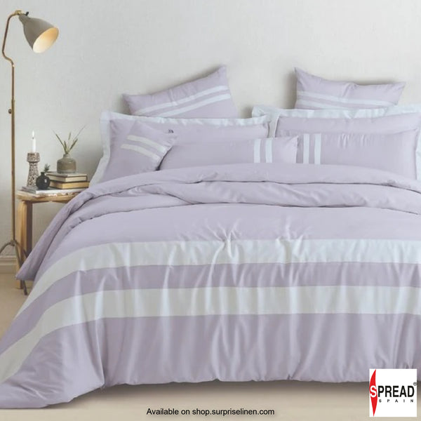 Spread Home - Botanic Cotton 550 Thread Count Bedsheet Set - Lavender