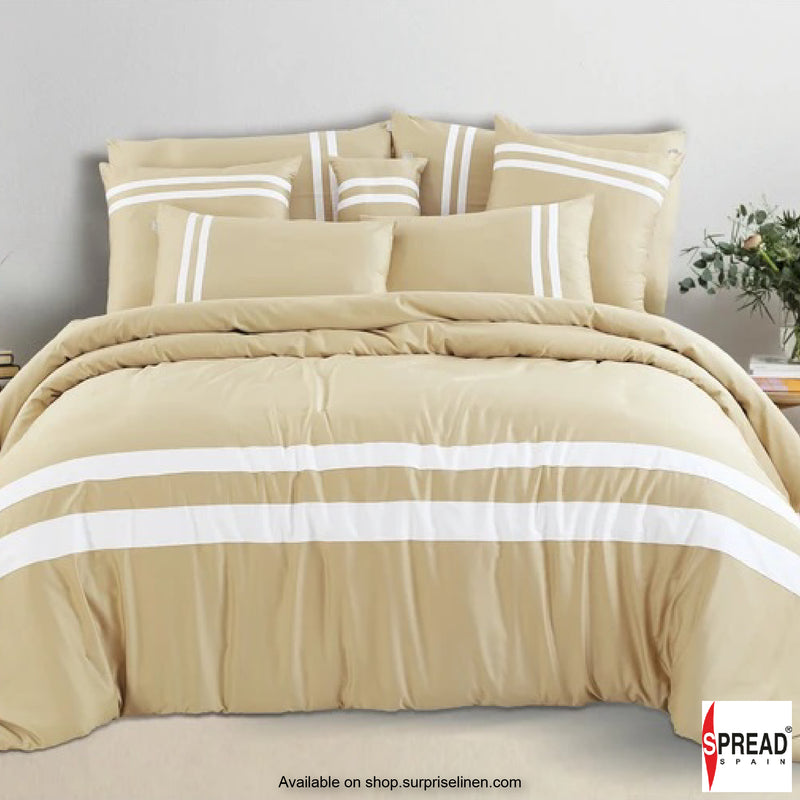Spread Home - Botanic Cotton 550 Thread Count Bedsheet Set - Tinsel