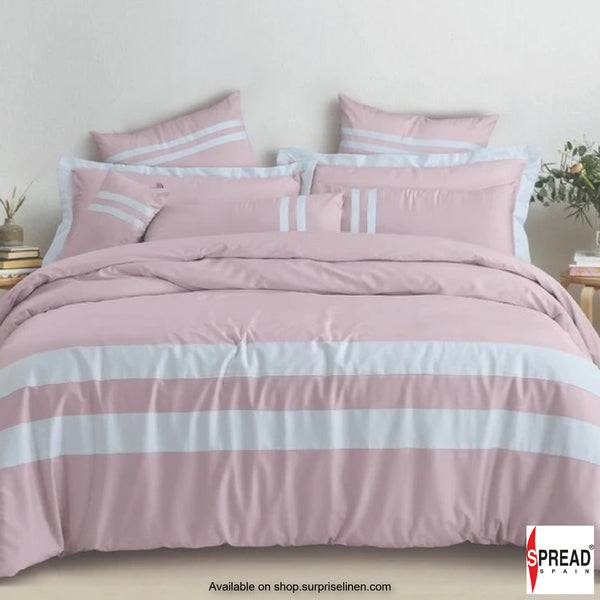 Spread Home - Botanic Cotton 550 Thread Count Bedsheet Set - Rose