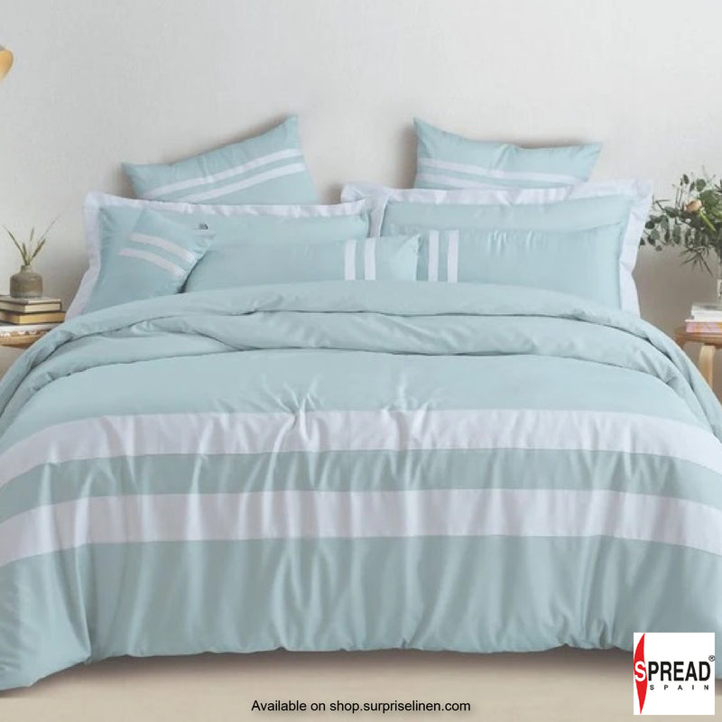 Spread Home  - Botanic Cotton 550 Thread Count Bedsheet Set - Mint