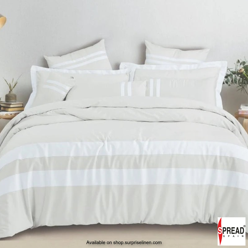 Spread Home - Botanic Cotton 550 Thread Count Bedsheet Set - White