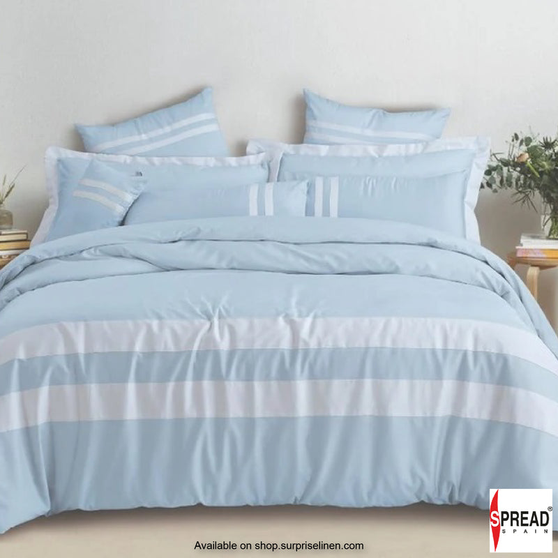Spread Home  - Botanic Cotton 550 Thread Count Cotton Dohar - Sky Blue
