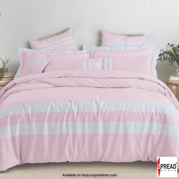 Spread Home -Botanic Cotton 550 Thread Count Bedsheet Set - Pink