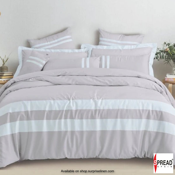 Spread Home - Botanic Cotton 550 Thread Count Bedsheet Set - Smoke