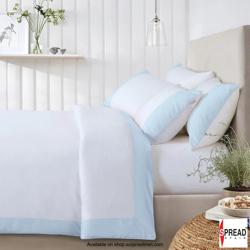 Spread Home - Botanic Cotton 550 Thread Count Lakeside (Sky Blue)