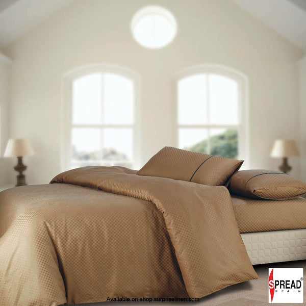 Spread Home - Oxford Street 400 Thread Count Duvet Cover (Brown)