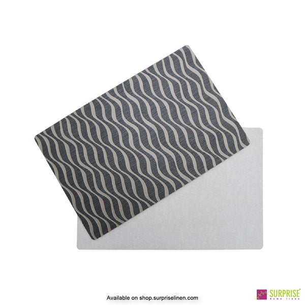 Surprise Home - Papel Table Mats 6 pc Set (Brown Waves)