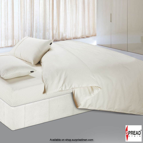 Spread Home - Oxford Street 400 Thread Count Duvet Cover (Cream)