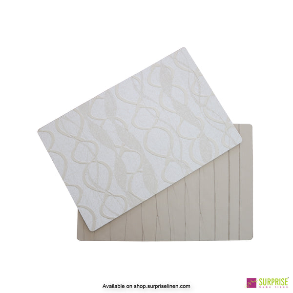 Surprise Home - Papel Table Mats 6 pc Set (Spirella Cream)