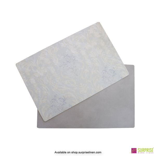 Surprise Home - Papel Table Mats 6 pc Set (Damask Grey)