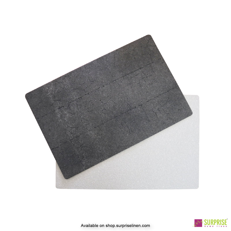 Surprise Home - Papel Table Mats 6 pc Set (Dark Grey)