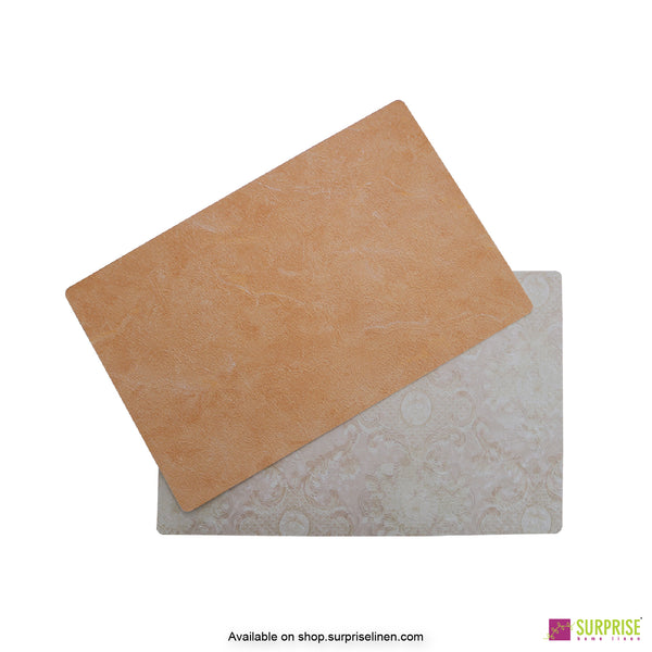 Surprise Home - Papel Table Mats 6 pc Set (Deep Mustard)