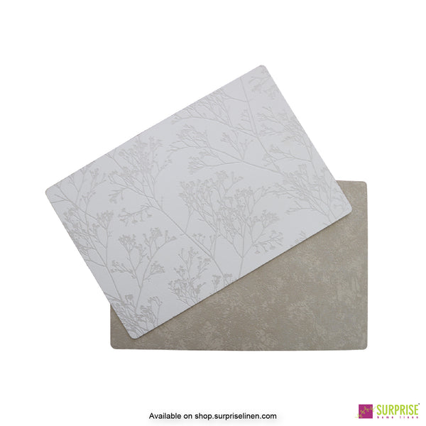 Surprise Home - Papel Table Mats 6 pc Set (Forest White)