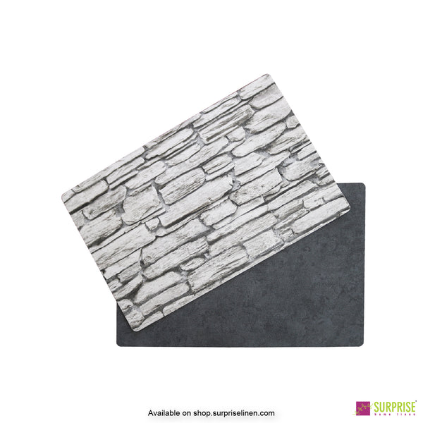 Surprise Home - Papel Table Mats 6 pc Set (Grey Wall)