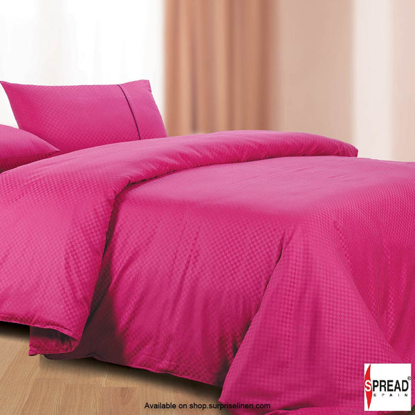 Spread Home - Oxford Street 400 Thread Count Duvet Cover (Hot Pink)