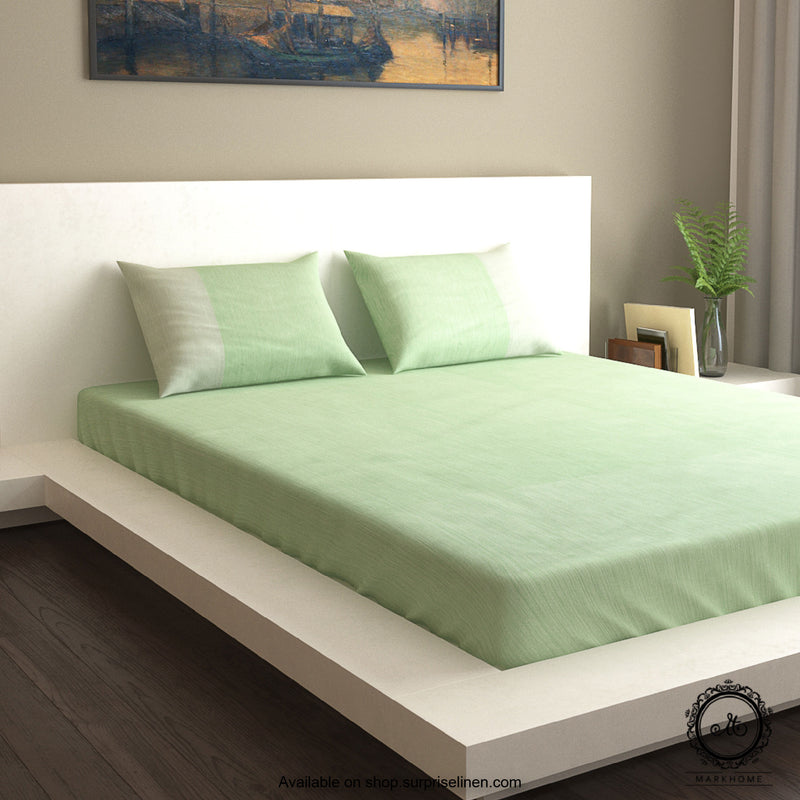 Mark Home - Oak Bedsheet Set in Sage Nature Based Wood Pulp Fabric