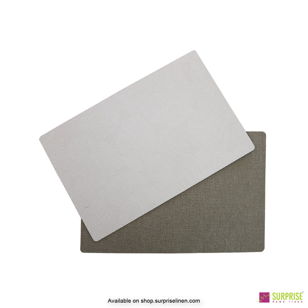 Surprise Home - Papel Table Mats 6 pc Set (Off White)