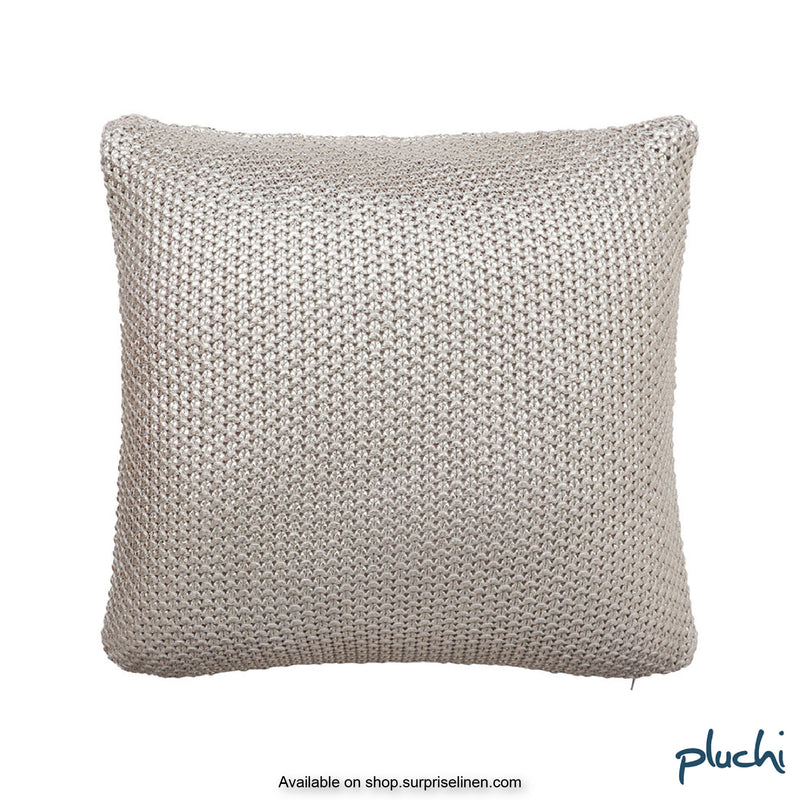 Pluchi - Skipper Knitted Cushion Cover (Natural)