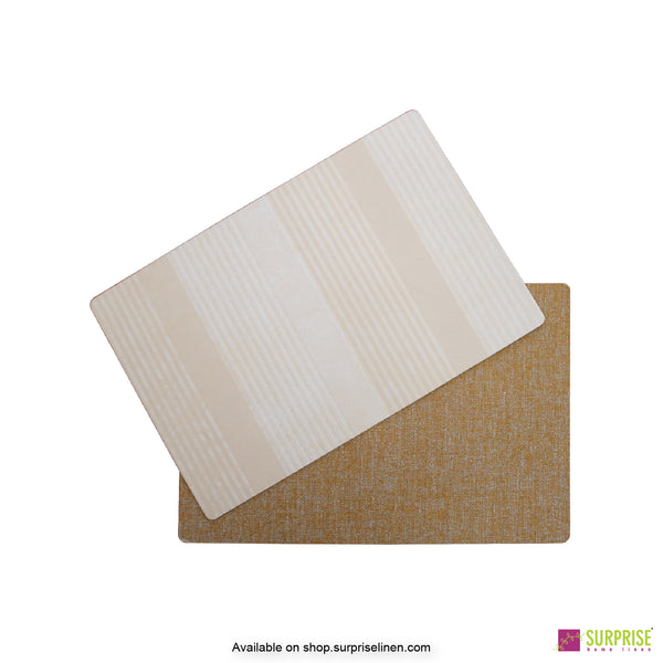 Surprise Home - Papel Table Mats 6 pc Set (Pastel Stripes)