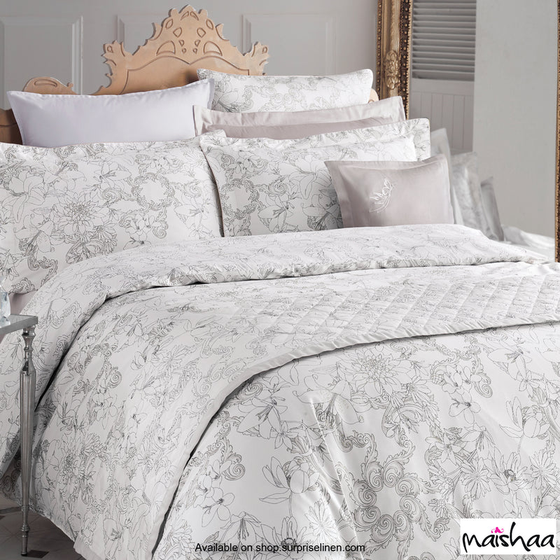Maishaa - Metallica Collection Petersburg Duvet Cover (Light Stone)