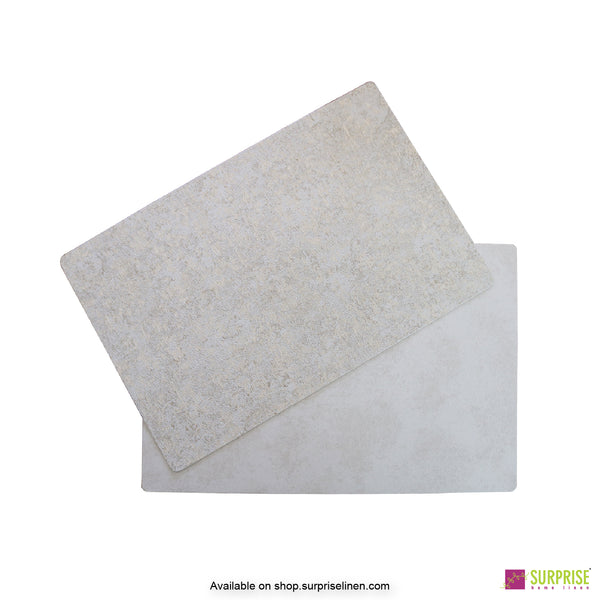 Surprise Home - Papel Table Mats 6 pc Set (Plush Stone)