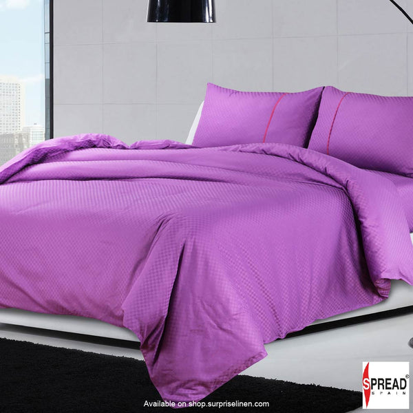 Spread Home - Oxford Street 400 Thread Count Duvet Cover (Purple)