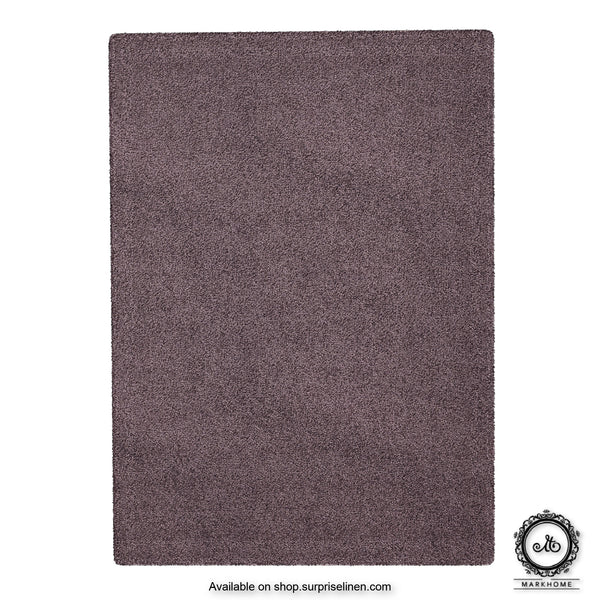 Mark Home - 100% Micro Anti Skid Durable Softness Plush Lustrous Rugs 50cm x 70cm (Grey)