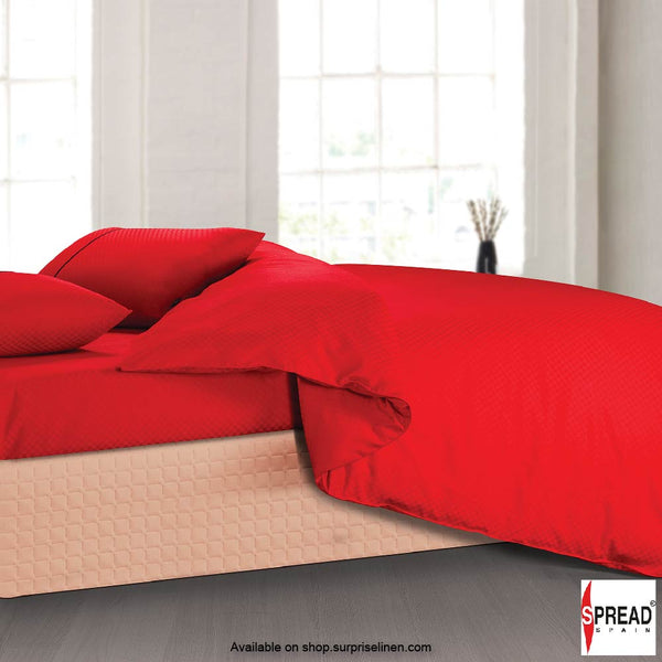 Spread Home - Oxford Street 400 Thread Count Duvet Cover (Red)