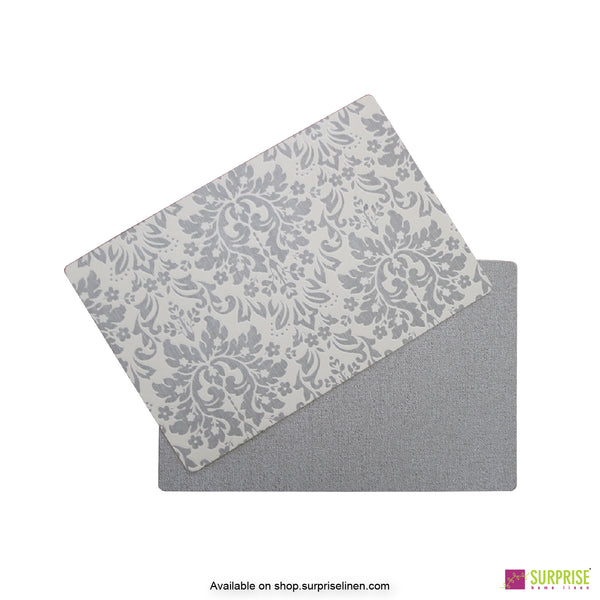 Surprise Home - Papel Table Mats 6 pc Set (Regal Grey)