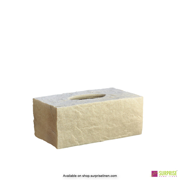 Surprise Home - Cube Tissue Box (Ivory)