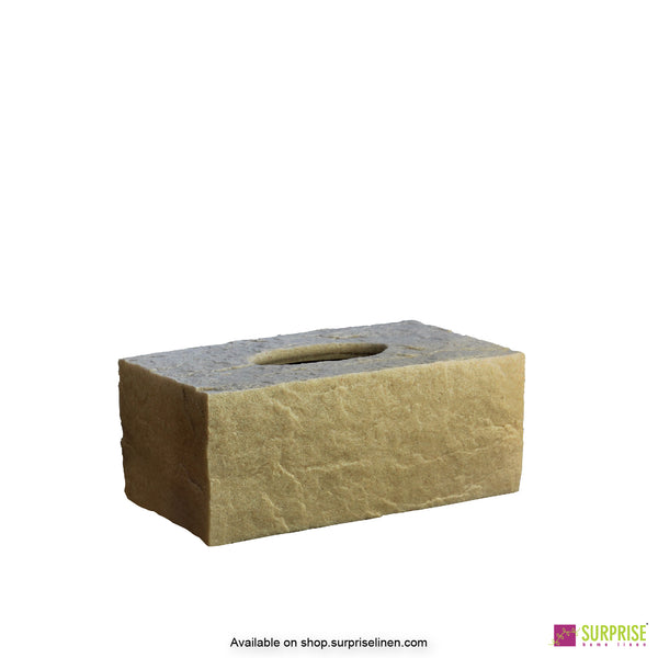 Surprise Home - Cube Tissue Box (Beige)